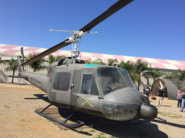 """UH-1 """"Huey"""" Air Cavalry at the March Air Base Museum"""